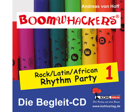 Boomwhackers-Rhythm Party - Begleit-CD-1