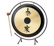 Tisch-Gong mit Metall-Stativ