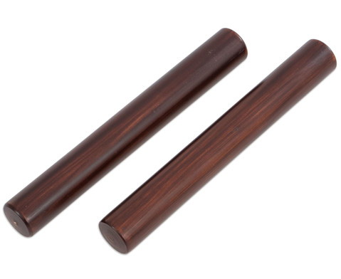 Claves aus dunkel lackiertem Kokosholz-1