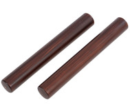 Claves aus dunkel lackiertem Kokosholz