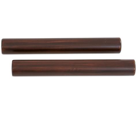 Claves aus dunkel lackiertem Kokosnussholz-3
