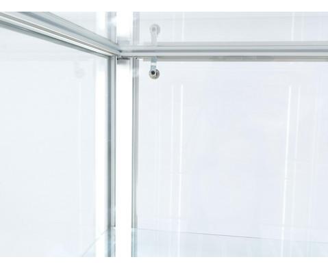 Omega Quadrat-Vitrine LED Streifen-Beleuchtung-10