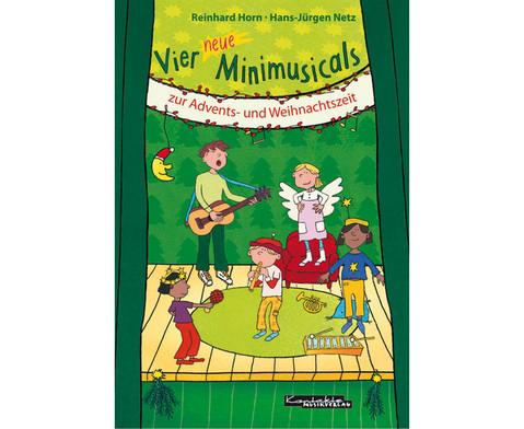 Vier neue Minimusicals  Buch-1