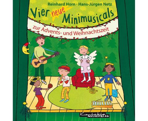 Vier neue Minimusicals CD-1