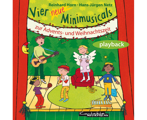 Vier neue Minimusicals Playback-CD-1