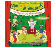Vier neue Minimusicals, Playback-CD