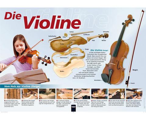 Poster - die Violine-1