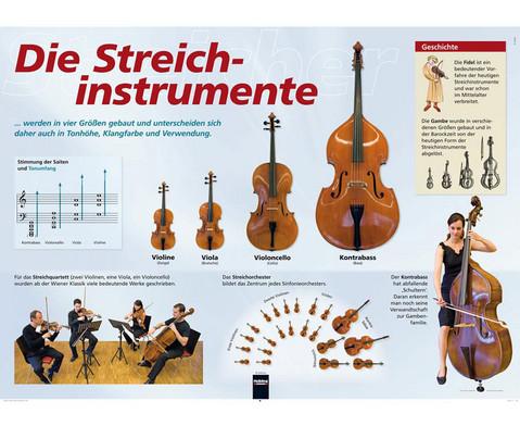 Poster - Streichinstrumente-1