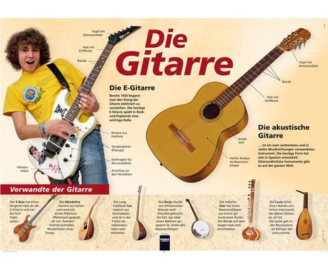 Poster - Die Gitarre-1