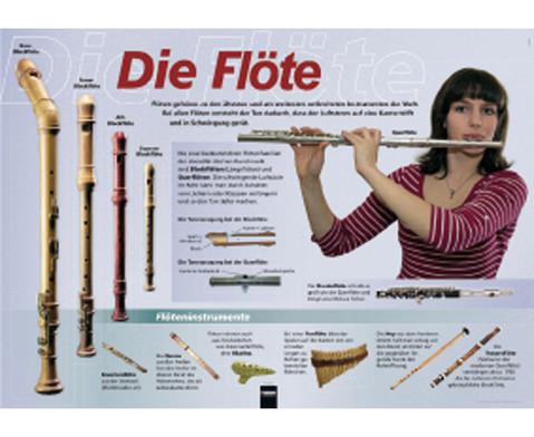Poster - Die Floete