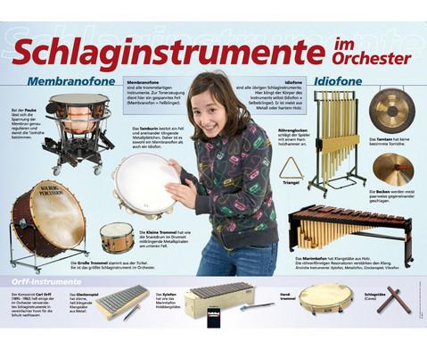Poster - Schlaginstrumente im Orchester-1