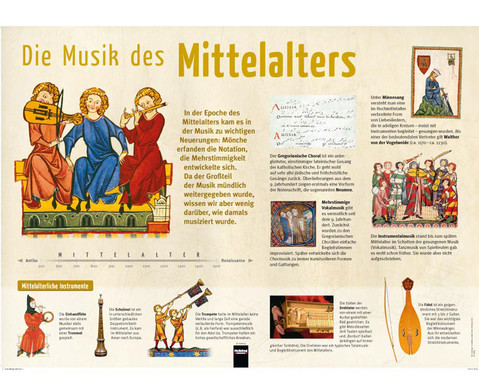 Poster - Die Musik des Mittelalters-1