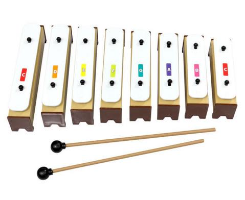 Noten-Aufkleber in Boomwhackers-Farben-3