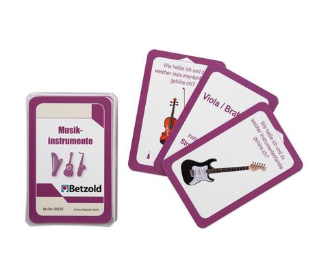 Betzold Musik Musikinstrumente - Karten fuer den magischen Zylinder
