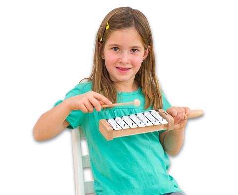 Hand-Glockenspiel diatonisch c3-h3-2