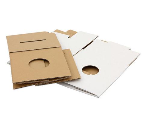 Trommelkiste aus Karton weiss 30x30x33 cm-3