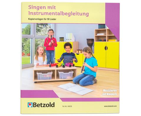 Betzold Musik Ordner Singen mit Instrumentalbegleitung