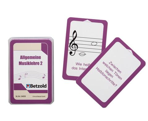 Betzold Musik Musiklehre 2 - Kartensatz fuer den Magischen Zylinder