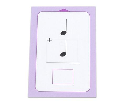 Rechnen mit Noten  - Kartensatz fuer den Magischen Zylinder-4