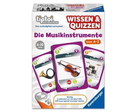 Wissen und Quizzen Musikinstrumente von A - Z