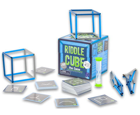 Geometriespiel Riddle Cube-5