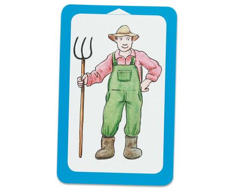 Auf dem Bauernhof - Kartensatz fuer den Magischen Zylinder-4