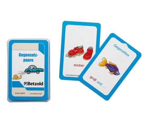 Betzold Gegensatzpaare - Kartensatz für den Mag...