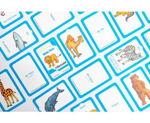 Wilde Tiere - Kartensatz fuer den Magischen Zylinder-2