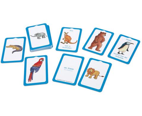 Wilde Tiere - Kartensatz fuer den Magischen Zylinder-4