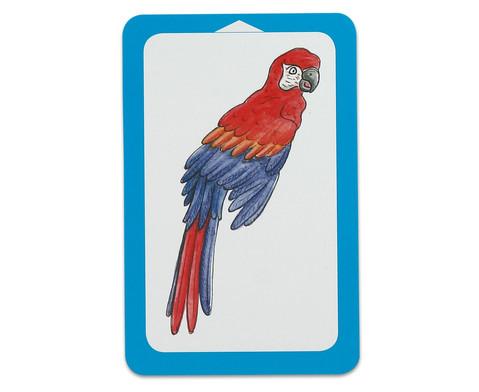 Wilde Tiere - Kartensatz fuer den Magischen Zylinder-5