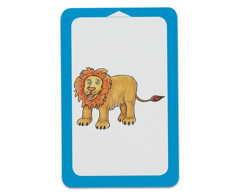 Wilde Tiere - Kartensatz fuer den Magischen Zylinder-7