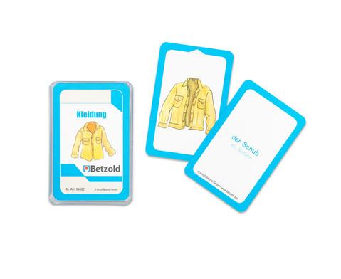 Kleidung - Kartensatz fuer den Magischen Zylinder