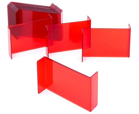 Geometriespiegel rot-3