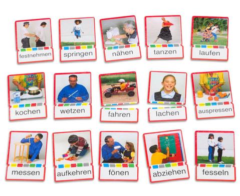 Bild-Wort-Karten Verben