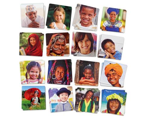 MemoSpiel Menschen aus aller Welt-1