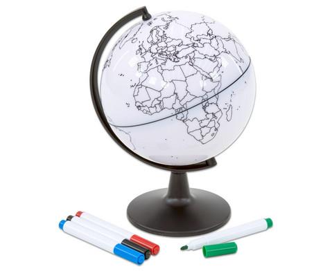 Kleiner beschreibbarer Globus-1