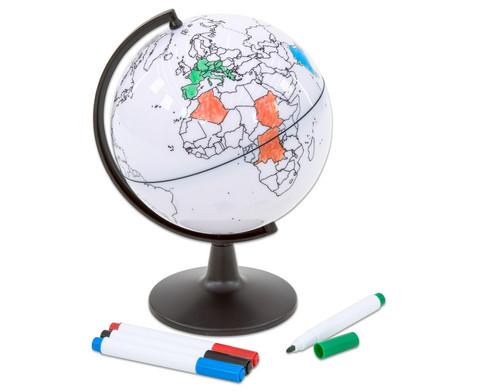 Kleiner beschreibbarer Globus-2