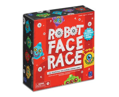 Robot Face Race-2