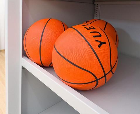 Ballschrank mit Schiebetueren -Lochblech-4