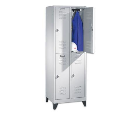 Garderobenschrank Standfuesse