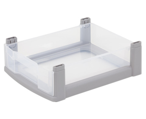 Flexeo Box grauer Rahmen klein transparent-1