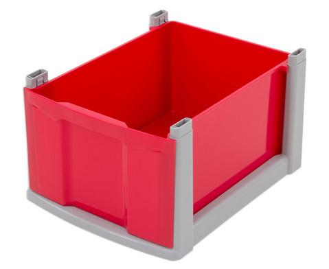 flexeo box grauer rahmen gro. Black Bedroom Furniture Sets. Home Design Ideas