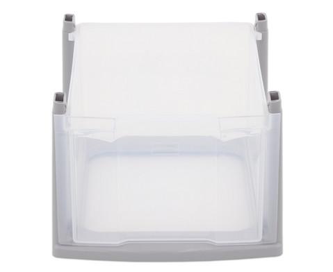Flexeo Box grauer Rahmen gross transparent-2