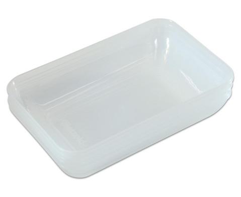 Grosse klar-transparente Materialschalen-1
