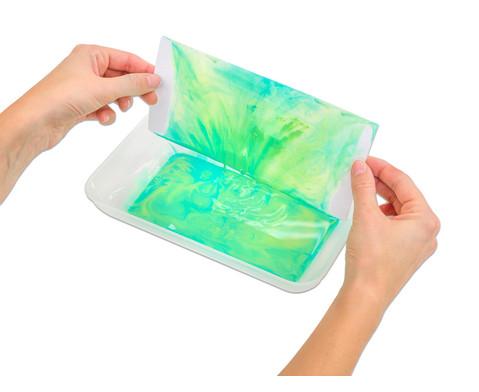 Grosse klar-transparente Materialschalen-5