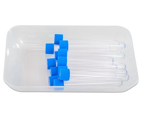 Transparent-klare Materialschalen gross 5 Stueck-8