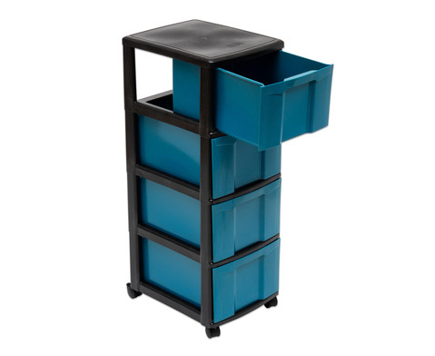 treeNside Rollcontainer mit 4 grossen Boxen