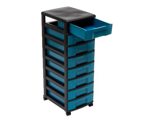 treeNside Rollcontainer mit 8 kleinen Boxen