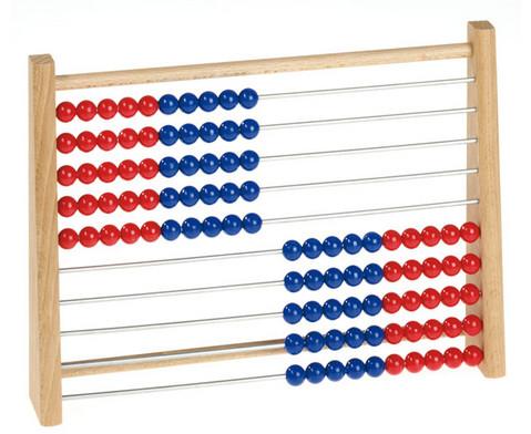 Rechenrahmen rot-blau-3