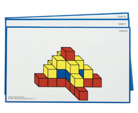 Arbeitskarten Farbige Wuerfel-2